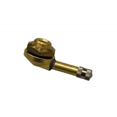 Вентиль для бескамерных шин грузовых автомобилей L21.5x40/D15.7