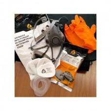 Полумаска 5500Р с фильтрами 5510 А1 с предфильтрами и с держателями Jeta Safety (комплект) (р-р М, для защиты дыхания (полумаска, фильтры A1 2шт, пред