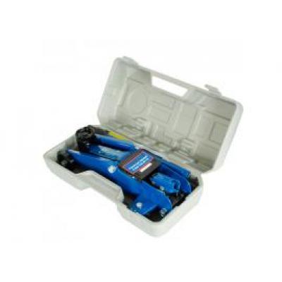 Домкрат гидравлический AE&T T32010A (2т) в кейсе