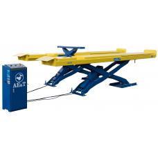 Ножничный подъёмник AE&T F6109 (380В) для сход-развала для монтажа в пол