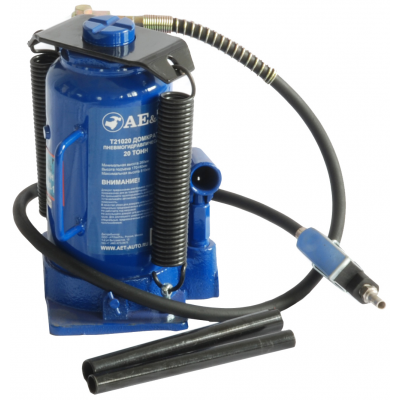 Домкрат пневмогидравлический бутылочный AE&T Т21020