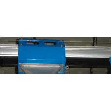 Алюминиевый рельс с резиновыми уплотнителями Atis FS-R4000