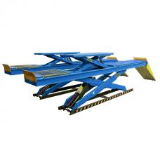 Двухуровневый ножничный подъемник Atis DX-5500A под сход развал (5.5т)