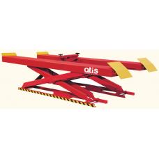 Ножничный подъёмник с гладкими платформами Atis X550 г/п 5.5 т (220/380 В)
