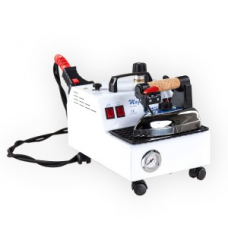 Мощный компактный пароочиститель Magic Vapor с утюгом и аксессуарами для паровой чистки