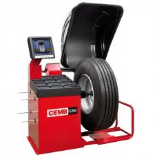 Станок для балансировки колес грузовых автомобилей и автобусов CEMB C202SE