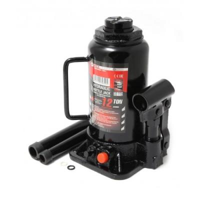Домкрат бутылочный 8т с клапаном+доп. ремкомплект Forcekraft FK-T90804