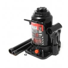 Домкрат бутылочный двухштоковый с клапаном+доп.ремкомплект Forcekraft FK-T91007