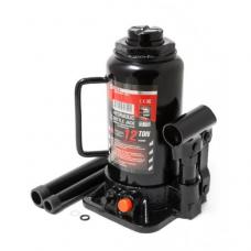 Домкрат бутылочный 12т с клапаном+доп.ремкомплект FORCEKRAFT FK-T91207