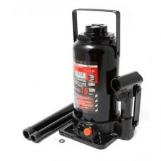 Домкрат бутылочный 15т с клапаном+доп. ремкомплект FORCEKRAFT FK-T91504