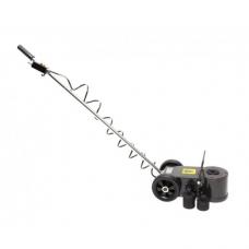Домкрат подкатной пневмогидравлический двухштоковый с переставной рукояткой 30т/15т FORCEKRAFT FK-TRA30-2ML