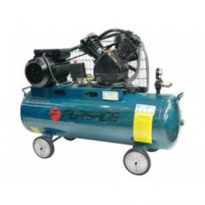 Компрессор 100 л 2-х поршневой с ременным приводом Forsage F-TB265-100
