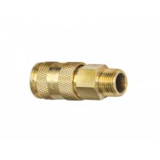 Быстроразъем пневматический с клапаном Forsage F-BSE1-3SM