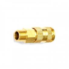 Быстроразъем пневматический с клапаном Forsage F-BSE1-4SM