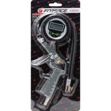Пистолет для подкачки шин Forsage F-STG-25 с монометром и шлангом