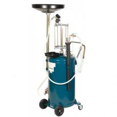 Установка Forsage F-TRG2090 пневматическая для удаления отработанного масла перекатная