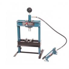 Пресс гидравлический Forsage F-TY12001 (12т) с манометром и выносным насосом