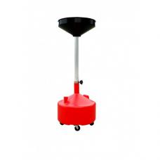 Емкость KINGTUL profi KT-2009-1 для слива технических жидкостей передвижная