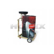Установка HOREX HZ 04.112. для сбора отработанного масла на тележке в отдельную бочку