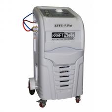 KraftWell KRW134A PlusPR автоматическая станция для заправки автомобильных кондиционеров с принтером