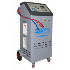 KraftWell KRW134ASA полуавтоматическая станция для заправки автомобильных кондиционеров