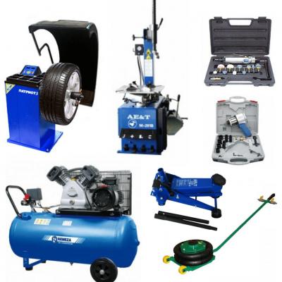 Комплект оборудования для легкового шиномонтажа (коммерческого транспорта) Полупрофессиональный