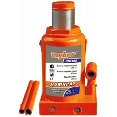 Домкрат бутылочный гидравлический Ombra OHT150 (50т)