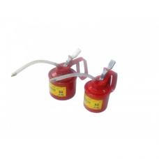 Пресс-масленка с гибким шлангом и дополнительным жестким наконечиком удлинителем Partner PA-10350