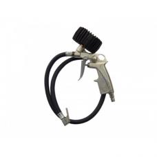Пистолет для подкачки шин Partner STG-32 с монометром и шлангом