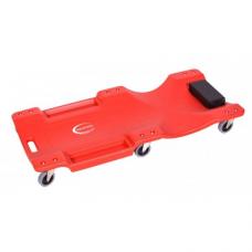 Лежак для автослесаря пластиковый на 6-ти колесах Rock Force RF-9U0311P36