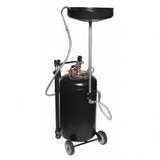 Установка Rock Force RF-HC-3285 пневматическая для удаления отработанного масла перекатная с индикатором заполнения