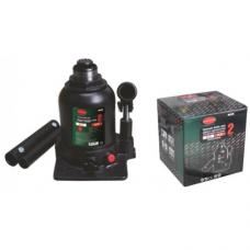 Домкрат бутылочный двухштоковый с клапаном+доп.ремкомплект Rock Force RF-TF0202