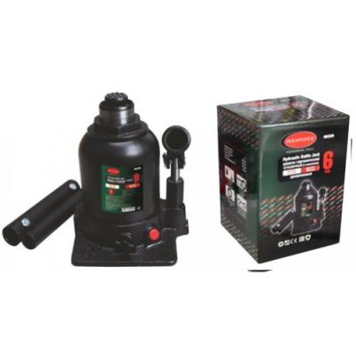 Домкрат бутылочный двухштоковый с клапаном+доп.ремкомплект Rock Force RF-TF0602