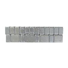 Грузики самоклеящиеся стальные оцинкованные на ленте SAINT GOBAIN (12х5 г, 50шт.)